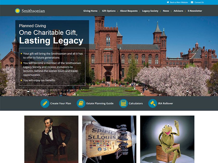 Smithsonian Legacy Society